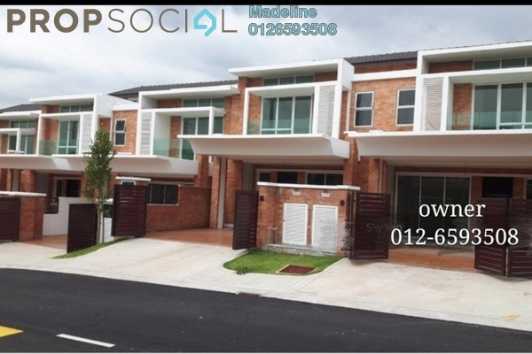 Townhouse For Rent in Goodview Heights, Kajang Freehold Semi Furnished 3R/2B 1.1k