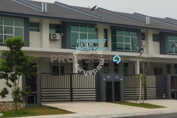 Terrace For Rent in Bangi Avenue, Kajang Freehold Unfurnished 4R/3B 1.1k