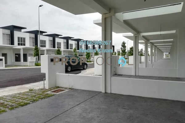 Terrace For Rent in CasaWood @ Cybersouth, Dengkil Freehold Semi Furnished 3R/3B 1.6k
