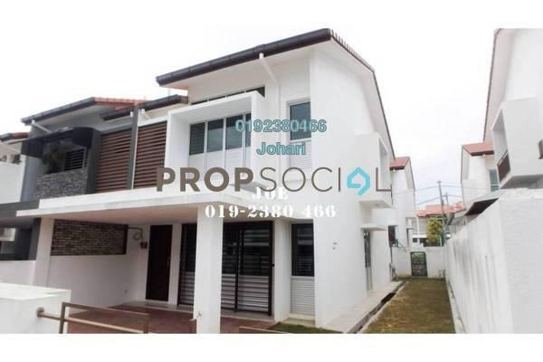 Terrace For Rent in Puncak Bestari, Puncak Alam Freehold Semi Furnished 4R/3B 1.2k