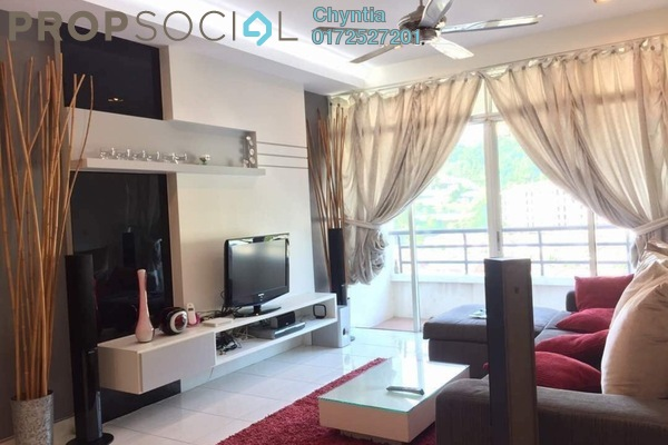 Condominium For Sale in Regency Heights, Sungai Ara Leasehold Fully Furnished 3R/2B 550k