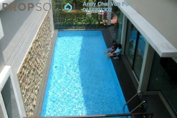 For Rent Bungalow at Villa Mont Kiara, Mont Kiara Freehold Semi Furnished 6R/5B 15k