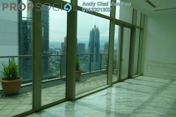 Serviced Residence For Rent in Marc Service Residence, KLCC Freehold Semi Furnished 5R/4B 26k