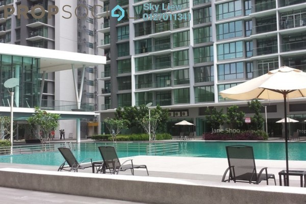 Condominium For Rent in The Z Residence, Bukit Jalil Freehold Semi Furnished 3R/2B 1.8k