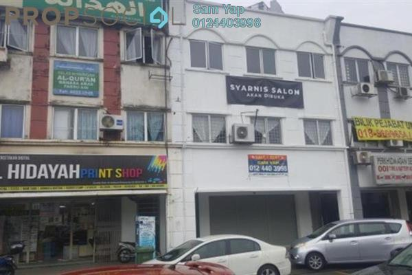 For Rent Shop at Taman Setapak Indah, Setapak Freehold Unfurnished 0R/2B 5k