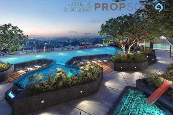 Condominium For Sale in The Arcuz, Kelana Jaya Leasehold Semi Furnished 2R/1B 610k