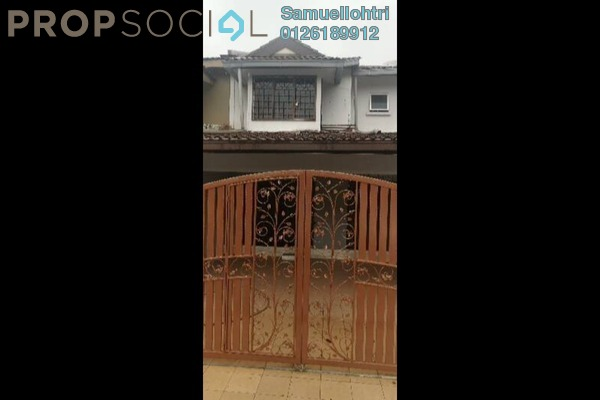 Terrace For Rent in Bandar Country Homes, Rawang Freehold Fully Furnished 3R/1B 1k