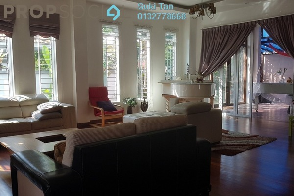 Bungalow For Sale in Fortune Park, Kepong Freehold Semi Furnished 6R/6B 3.5m