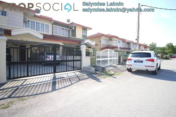 Terrace For Sale in Segar View, Cheras Freehold Semi Furnished 4R/3B 599k