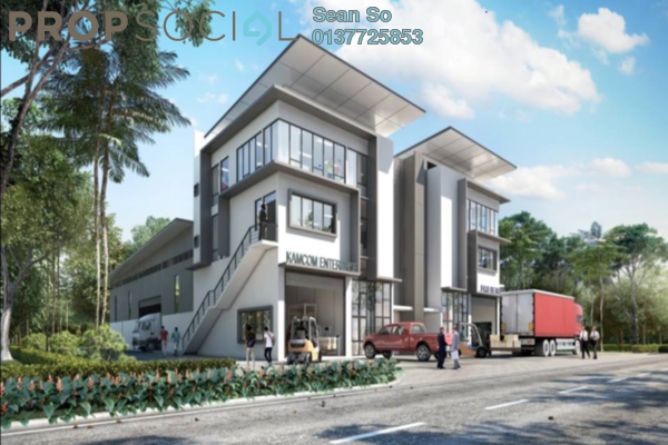 Factory For Sale in Nouvelle Industrial Park, Kota Puteri Leasehold Semi Furnished 0R/16B 2.91m