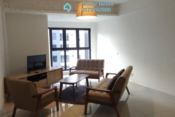 共管公寓 单位出售于 Royalle Condominium, Segambut Freehold Fully Furnished 2R/3B 630.0千
