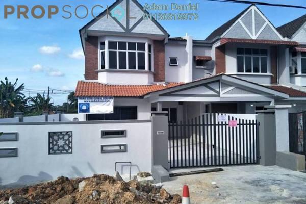 Terrace For Sale in Taman Desa Cemerlang, Ulu Tiram Freehold Unfurnished 4R/2B 470k