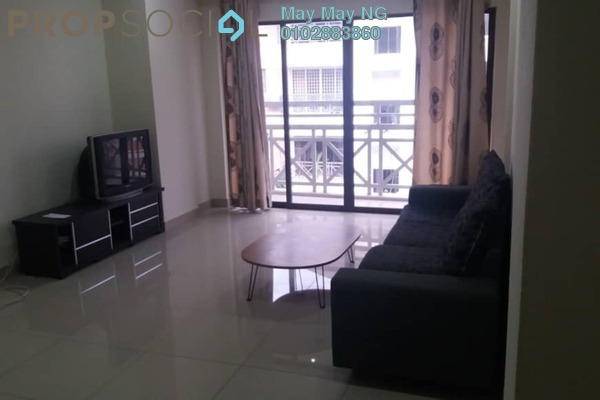 Condominium For Rent in Evergreen Park, Bandar Sungai Long Freehold Fully Furnished 3R/2B 950translationmissing:en.pricing.unit