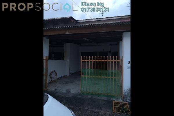Terrace For Sale in Taman Damai Jaya, Skudai Freehold Semi Furnished 3R/1B 250k