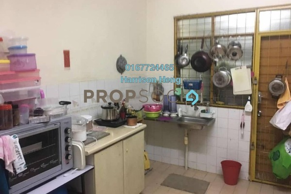 Terrace For Sale in Straits View Condominium, Bandar Baru Permas Jaya Freehold Unfurnished 3R/2B 380k
