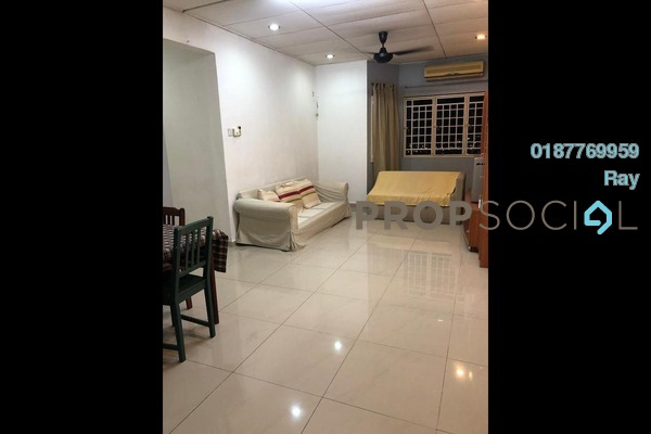 For Rent Condominium at Bayu Tasik 2, Bandar Sri Permaisuri Freehold Semi Furnished 3R/2B 1.45k