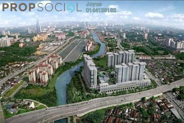 Condominium For Sale in Platinum Arena, Old Klang Road Leasehold Semi Furnished 2R/2B 348k