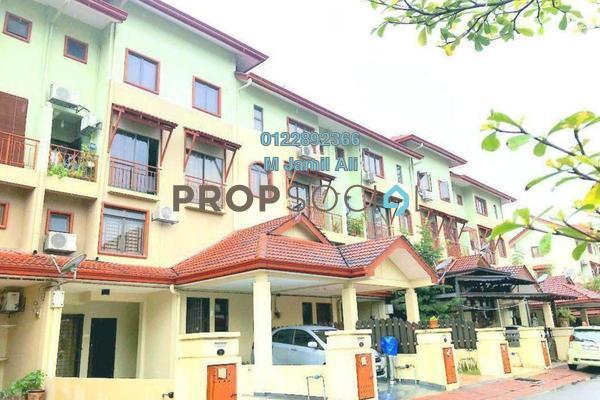 Townhouse For Rent in Villa Laman Tasik, Bandar Sri Permaisuri Freehold Fully Furnished 4R/3B 2.5k