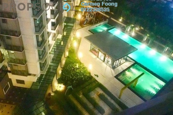 For Sale Condominium at Boulevard Residence, Bandar Utama Freehold Semi Furnished 3R/2B 680k
