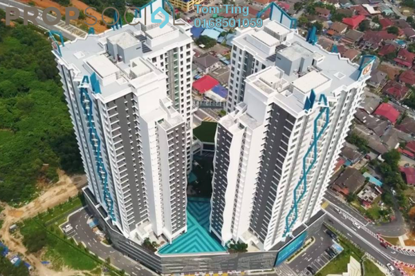 Condominium For Sale in Trinity Aquata, Sungai Besi Freehold Unfurnished 3R/2B 550k