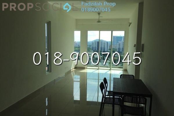 For Sale Condominium at Mercury Serviced Apartment @ Sentul Village, Sentul Freehold Semi Furnished 3R/2B 470k