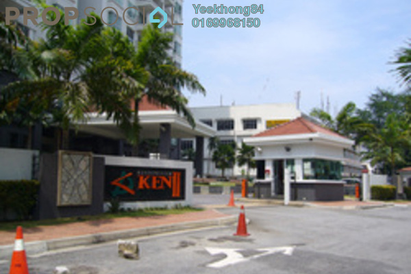 For Rent Condominium at Ken Damansara II, Petaling Jaya Freehold Fully Furnished 3R/2B 2.5k