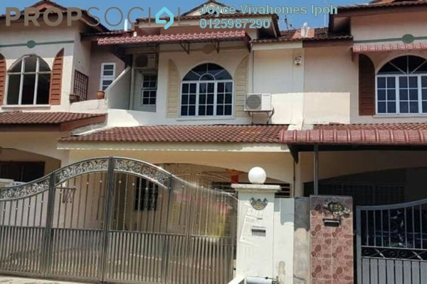 Townhouse For Sale in Panorama Lapangan Perdana, Ipoh Freehold Unfurnished 3R/3B 298k