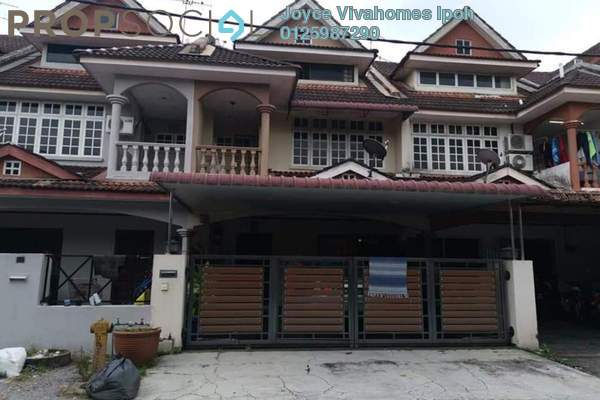 Townhouse For Sale in Fair Park, Ipoh Leasehold Unfurnished 5R/4B 368k
