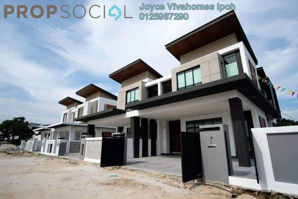 Semi-Detached For Sale in Meru Valley EcoVillage, Ipoh Freehold Unfurnished 5R/5B 889k