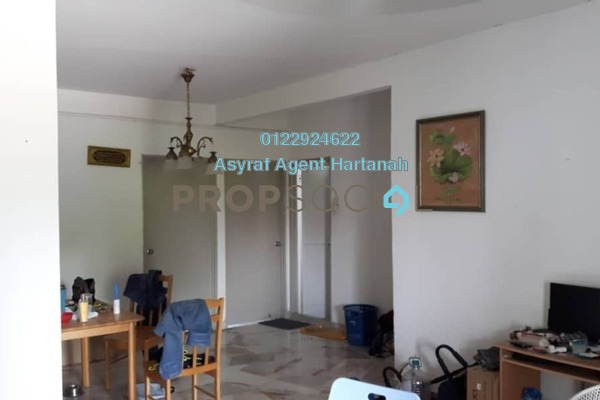 Apartment For Sale in Baiduri Apartment, Desa Pandan Freehold Semi Furnished 3R/2B 330k