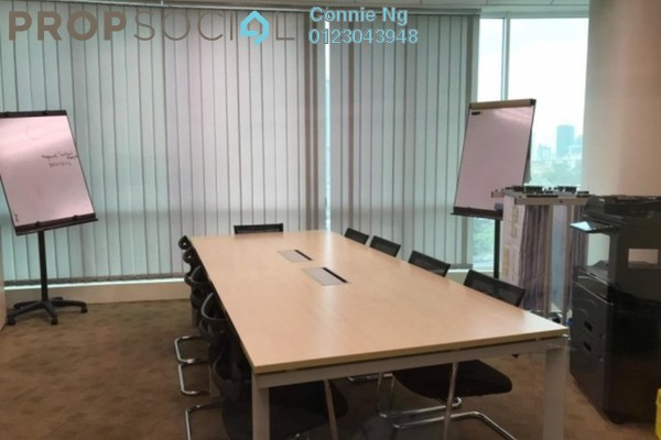 Office For Rent in Oval Tower, TTDI Freehold Semi Furnished 0R/1B 5.5k