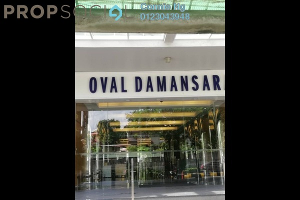 Office For Rent in Oval Tower, TTDI Freehold Unfurnished 0R/1B 3.2k