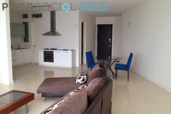Condominium For Rent in Idaman Residence, KLCC Freehold Fully Furnished 3R/3B 4.8k