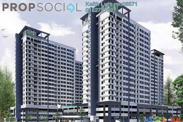 Condominium For Sale in The Greens @ Subang West, Shah Alam Freehold Unfurnished 3R/2B 580k