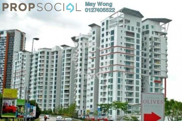 Serviced Residence For Sale in Subang Olives, Subang Jaya Freehold Semi Furnished 4R/3B 855k
