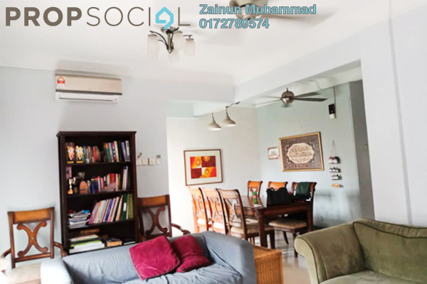 Townhouse For Sale in Villa Laman Tasik, Bandar Sri Permaisuri Freehold Semi Furnished 4R/3B 650k