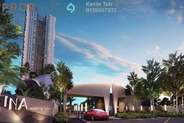 Condominium For Sale in Residensi Sefina, Mont Kiara Freehold Semi Furnished 3R/2B 1.05m