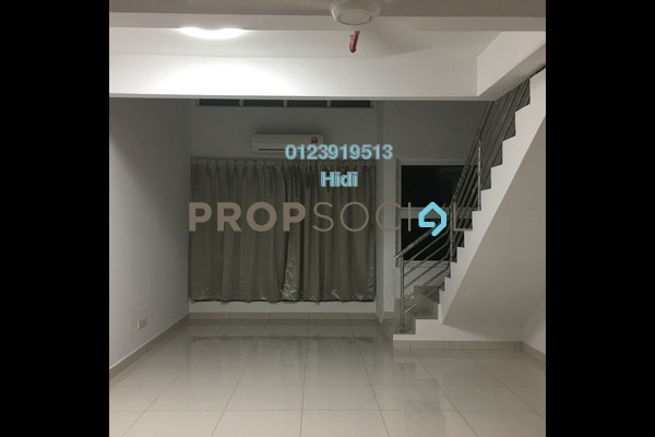 Duplex For Rent in De Centrum Residences, Kajang Freehold Semi Furnished 1R/2B 1.4k