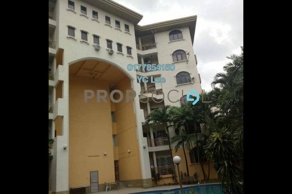 Condominium For Sale in Catalina Villa, Ampang Hilir Freehold semi_furnished 3R/2B 600k