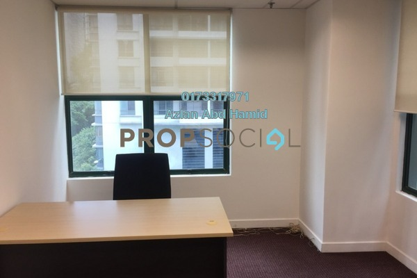 For Rent Office at Megan Avenue 1, KLCC Freehold Fully Furnished 0R/2B 1.95k