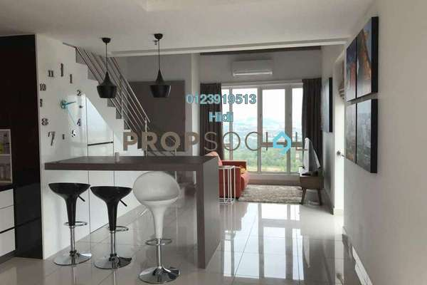 Duplex For Rent in De Centrum Residences, Kajang Freehold Fully Furnished 1R/2B 1.8k