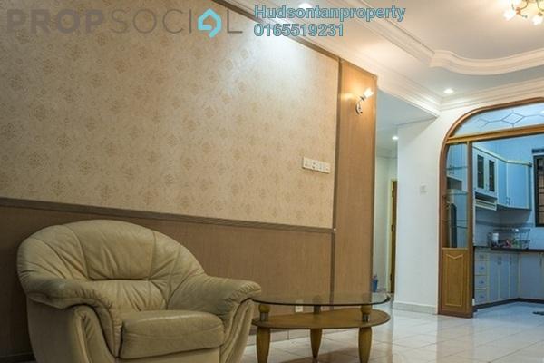 Condominium For Sale in Desa Dua, Kepong Freehold Semi Furnished 3R/2B 240k