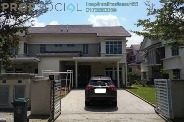 For Sale Semi-Detached at Cempaka Puri Twin Villas, Kota Seriemas Freehold Unfurnished 4R/4B 775k