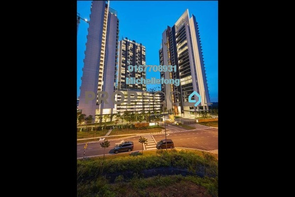 Serviced Residence For Sale in Grand Medini, Medini Freehold Semi Furnished 1R/1B 438k