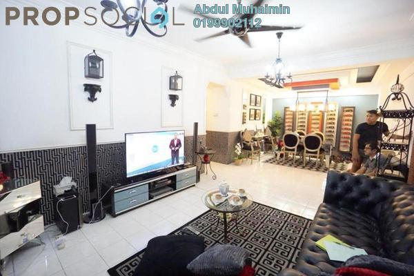 Condominium For Sale in Pelangi Condominium, Sentul Freehold Semi Furnished 3R/2B 410k