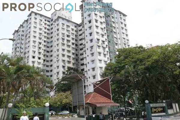 Condominium For Rent in Seri Mas, Bandar Sri Permaisuri Freehold Semi Furnished 3R/2B 1.15k