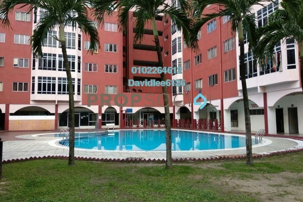 Condominium For Rent in Permai Villa, Puchong Freehold Unfurnished 3R/2B 1k