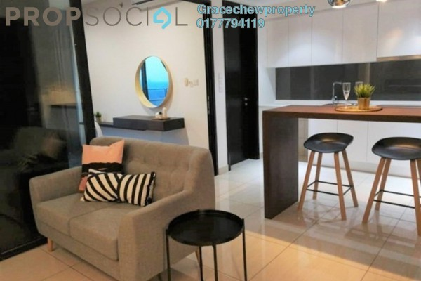 Apartment For Rent in Almaspuri, Mont Kiara Freehold fully_furnished 1R/1B 1.6k