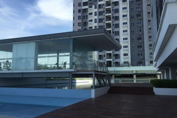 Condominium For Rent in The Wharf, Puchong Freehold Unfurnished 2R/2B 959translationmissing:en.pricing.unit