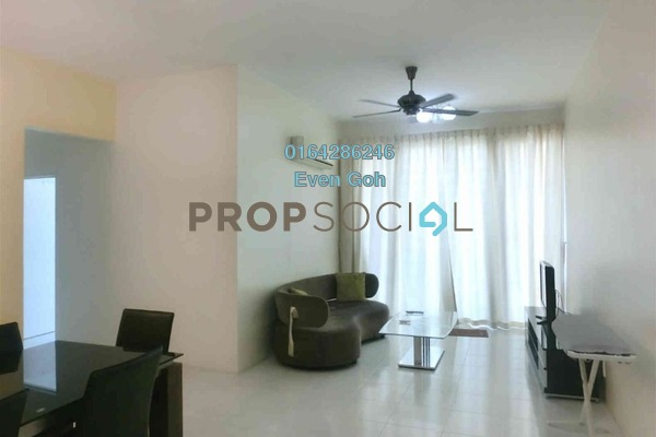 Condominium For Sale in BaysWater, Gelugor Freehold Fully Furnished 3R/3B 890k